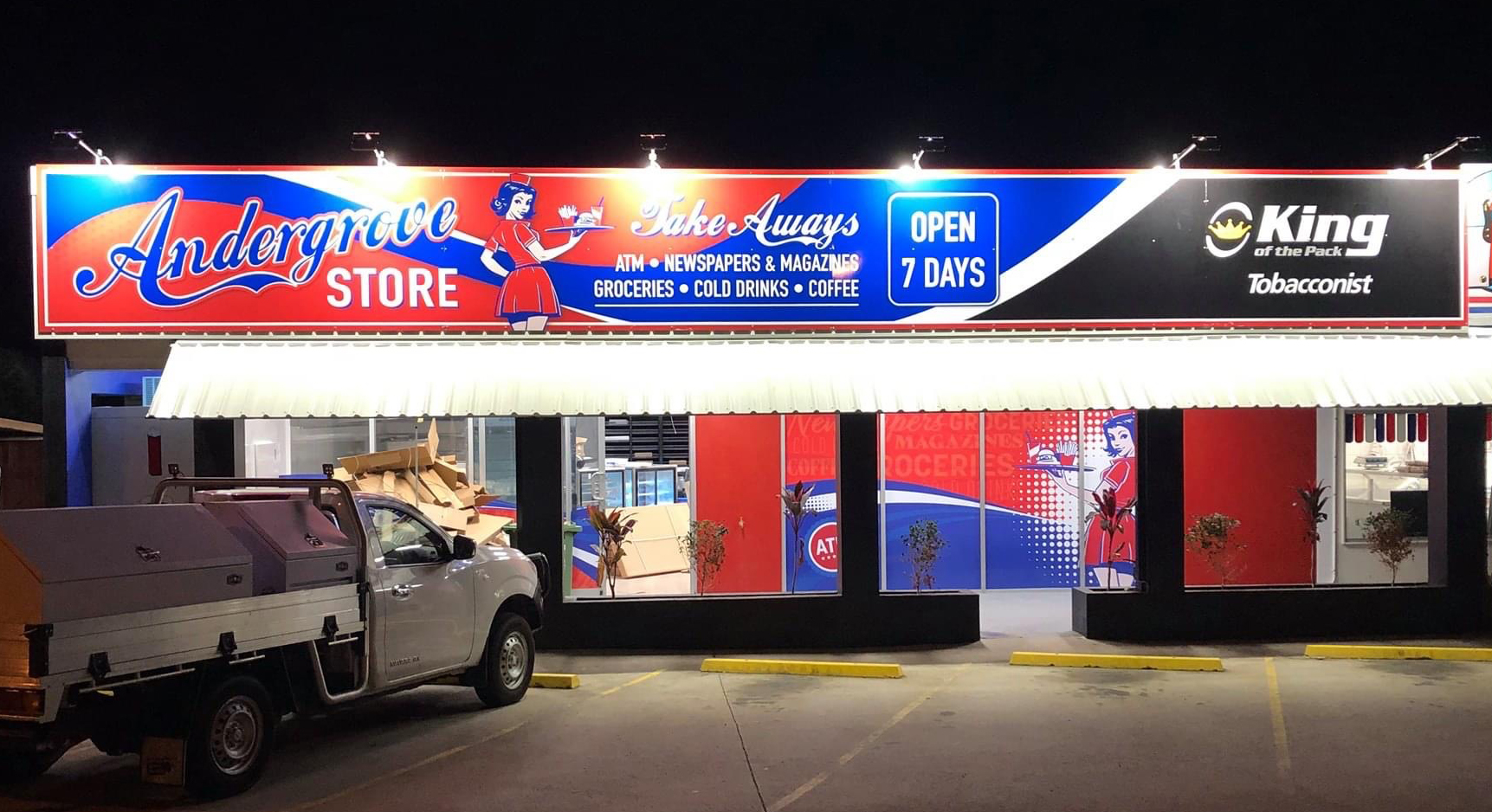 andergrove store shop front